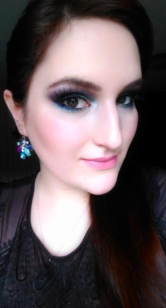 makeup maquillage nouvel an maquillage coloré faux cils sleek bad girl iconic pro 2 makeup révolution maquillage yeux brun maquillage chargé maquillage soirée makeup night